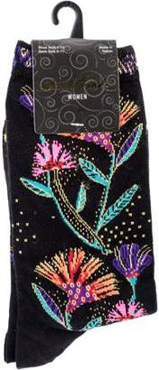 Laurèl Burch Socks - Wildflowers