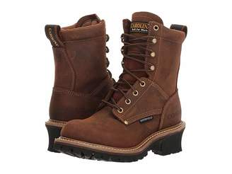 Carolina Elm 8 Waterproof Plain Toe Logger CA435