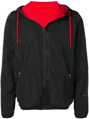 Karl Lagerfeld Paris reversible rain jacket