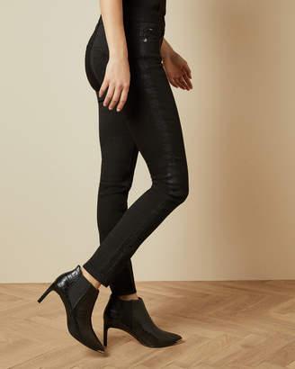Ted Baker BELTRIX Glitter tape skinny jeans