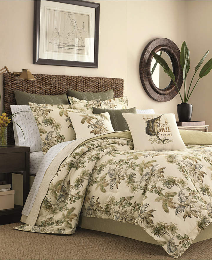 Tommy Bahama Home Nador 4-Pc. California King Comforter Set Bedding