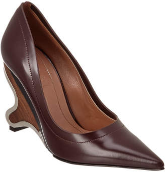 Marni Wooden Leather Pump
