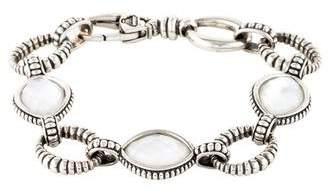 Lagos Quartz & Mother Of Pearl Doublet Bracelet