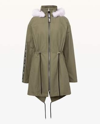 Juicy Couture JXJC Faux Fur Hood Long Parka