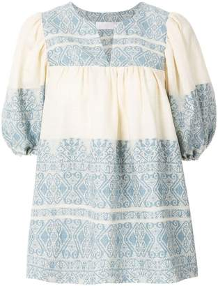 Zimmermann embroidered tunic shirt