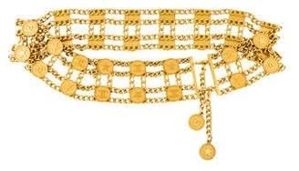 Chanel CC Star Chain-Link Belt