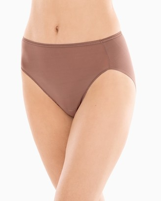 Vanishing Edge Microfiber High Leg Brief