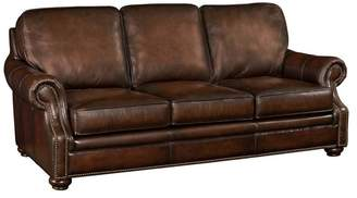 1st Avenue Wiltshire Brown Leather Sofa