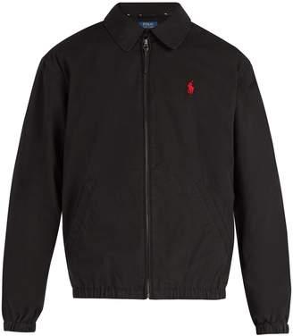 Polo Ralph Lauren Harrington logo-embroidered cotton jacket