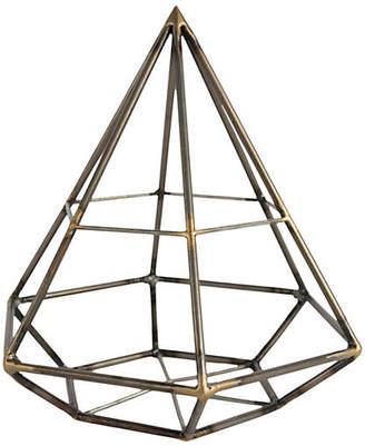 "One Kings Lane 10"" Diamond Geodesic Figurine"