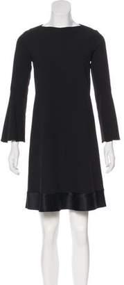 Ellery Long Sleeve Mini Dress