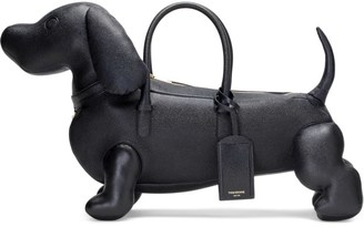 THOM BROWNE Pebble Grain Leather Hector Bag $1,820 thestylecure.com