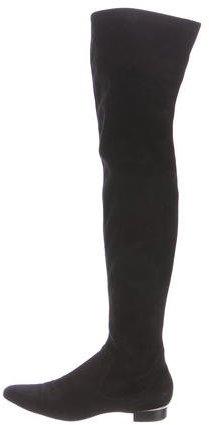 Ralph Lauren Suede Over-The-Knee Boots