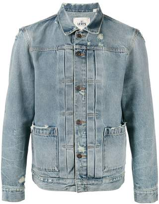 Levi's Made & Crafted faded denim jacket