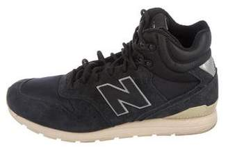 New Balance Suede High-Top Sneakers