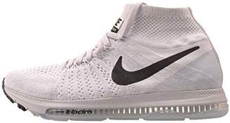 Nike Women's WMNS Zoom All Out Flyknit, White/Black - Pure Platinum