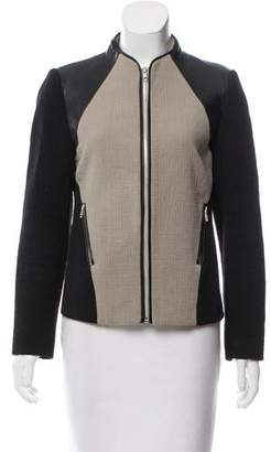 Jonathan Simkhai Long Sleeve Paneled Jacket