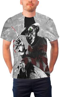 Freddy Nightmare On Elm Street Officially Licensed Merchandise Kruger Allover T-Shirt