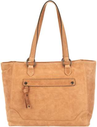 Frye Leather Melissa Zip Top Tote