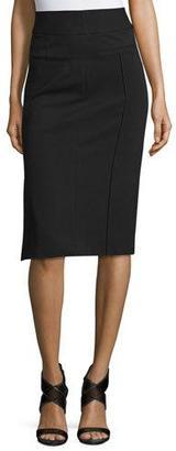Diane von Furstenberg Kayte High-Waist Pencil Skirt $228 thestylecure.com