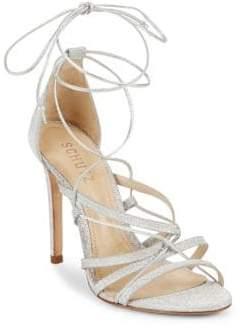 Schutz Tatiana Leather Sandals