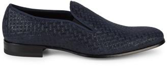 Mezlan Boheme II Suede & Patent Leather Loafers