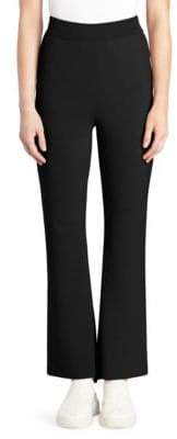 Stella McCartney Compact Knit Ankle Slit Pants