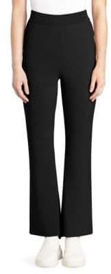 Stella McCartney Compact Knit Ankle Slit Pants