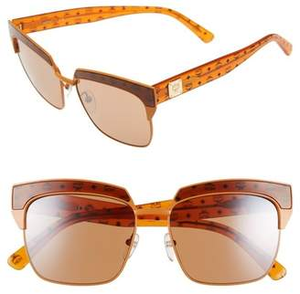 MCM Visetos 56mm Retro Sunglasses
