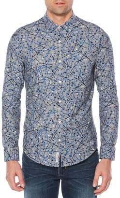 Original Penguin Splattered Paint Shirt