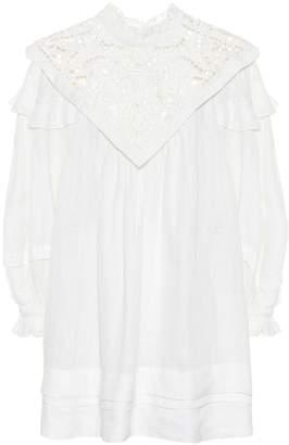 Isabel Marant Galia linen minidress