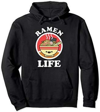 Ramen Life Japanese Foodie Gift Pullover Ramen Noodle Hoodie