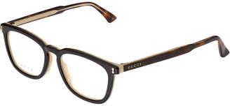 Gucci Men's Gg0126oa-30001535004 53Mm Optical Frames