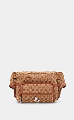 Gucci Men's LA DodgersTM Convertible GG Supreme Belt Bag - Lt. brown