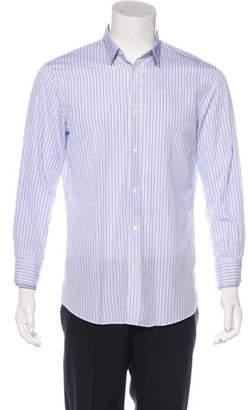Alexander McQueen Striped Woven Shirt