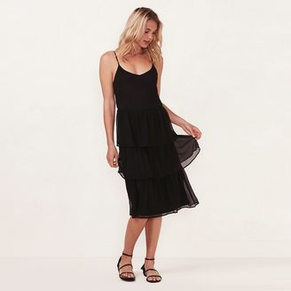 Women's LC Lauren Conrad Tiered Shift Dress $68 thestylecure.com