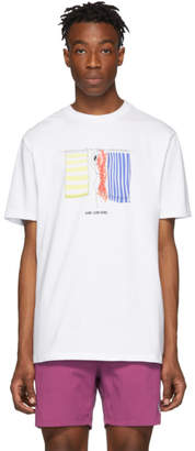 Leon Aime Dore White Hanging Towels T-Shirt