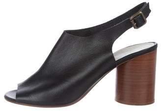 Maison Margiela Leather Ankle Strap Sandals