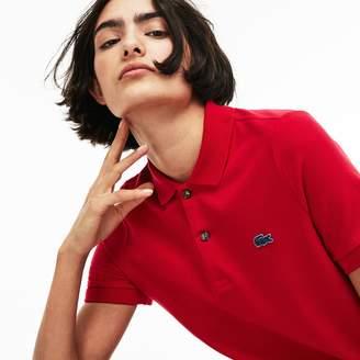 Lacoste Unisex LIVE Slim Fit Stretch Mini Pique Polo