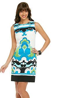 Amy Byer Printed Sheath Dress