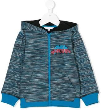 Little Marc Jacobs logo motif hoodie