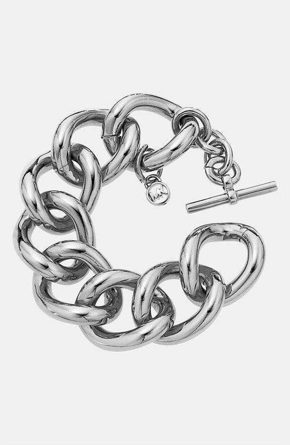 Michael Kors 'Glam Classics' Chain Link Toggle Bracelet