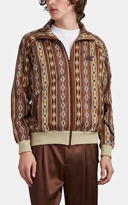 Needles Men's Kilim Jacquard Track Jacket - Beige, Tan