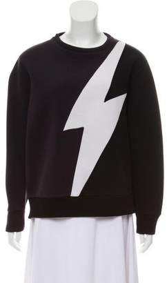 Neil Barrett Crew Neck Long Sleeve Sweater