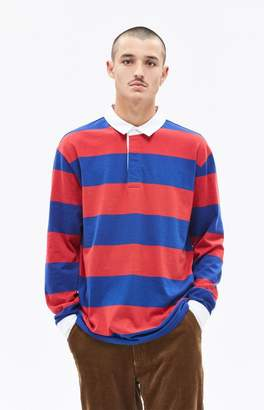 PacSun Roots Long Sleeve Polo Shirt