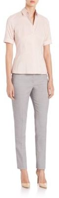 Tiluni1 Slim Wool Pants $255 thestylecure.com