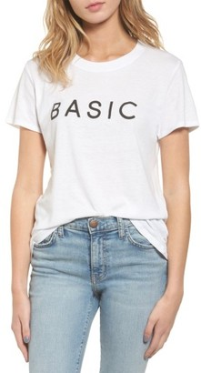 Women's Sub_Urban Riot Basic Graphic Tee $34 thestylecure.com