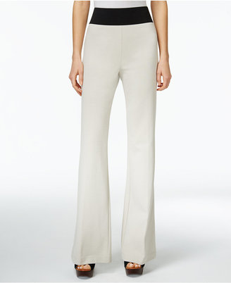 INC International Concepts Pull-On Wide-Leg Pants, Only at Macy's $69.50 thestylecure.com