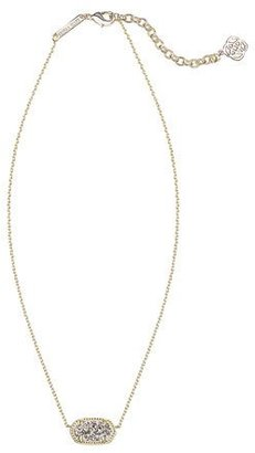 Kendra Scott Elisa Abalone Shell Pendant Necklace $85 thestylecure.com