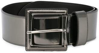 B-Low the Belt metallic buckle belt